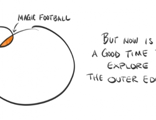 For now, let's look beyond that Magic Football